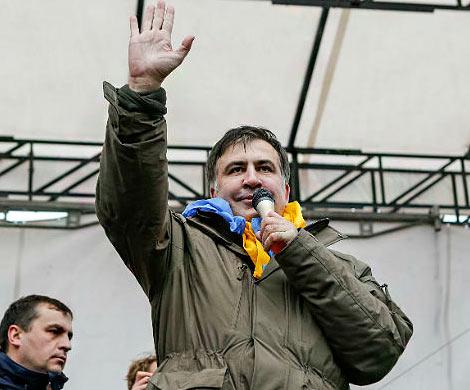 Неизвестные напали налагерь приверженцев Саакашвили