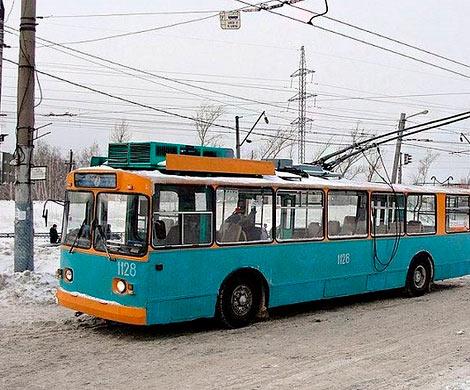 Пензенцев встревожил бесхозный рюкзак втроллейбусе №7