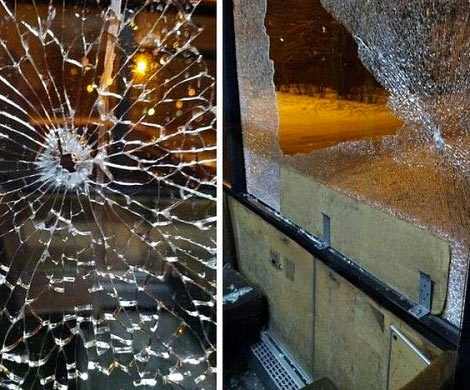 ВПодмосковье обстреляли автобус спассажирами