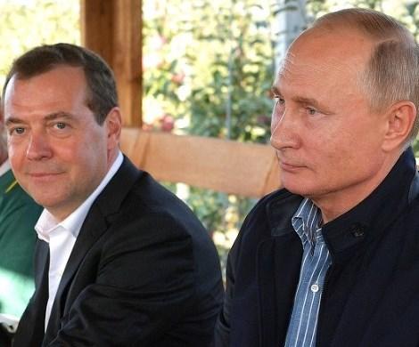 «В рай насильно не загонишь»: Медведев неудачно повторил слова Путина