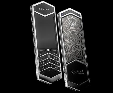 Caviar представила чудный  кнопочный Царь-телефон вРФ