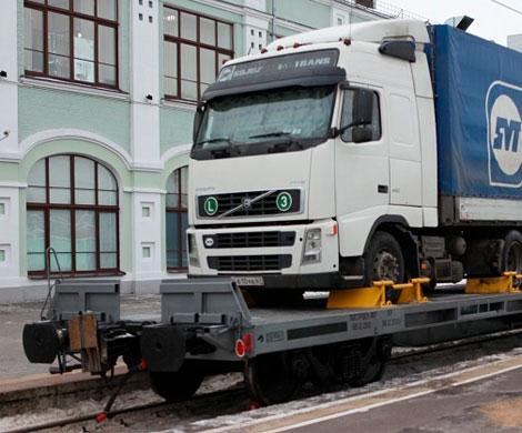 В России заработали контрейлерные перевозки