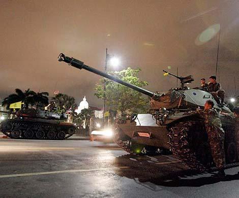 В таиланде введено военное положение
