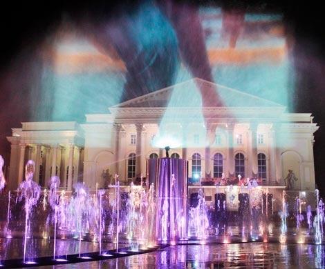 ВТюмени заработал сухой фонтан