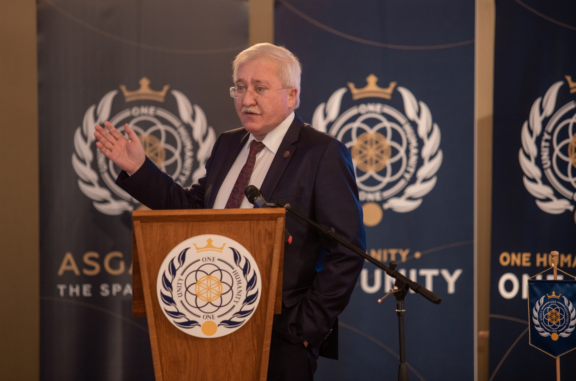 В Вене состоялся первая в истории встреча руководства космического государства