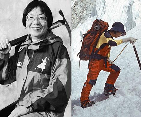 ВЯпонии скончалась первая женщина, покорившая Эверест