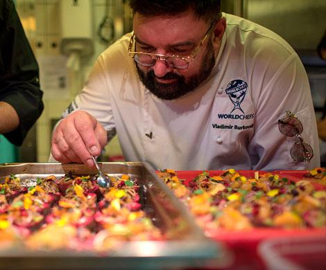Владимир Бурковский представил в Монако сибирскую кухню