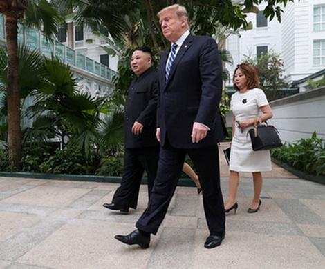 Встреча Трампа и Ким Чен Ына не увенчалась прорывом