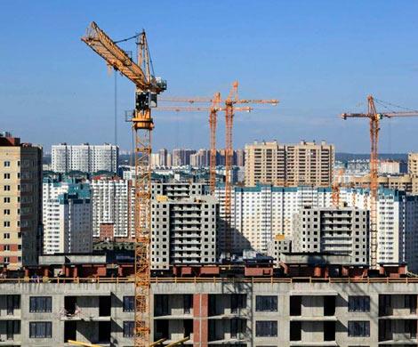 Жилищное строительство вРФ уменьшилось весной на9%