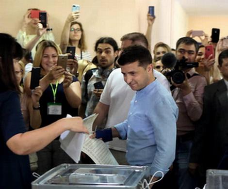 Выборы «слуг народа» на Украине