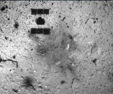 Японский зонд сел на астероид Рюгу