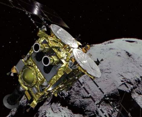 Японский зонд совершил вторую посадку на астероид Рюгу