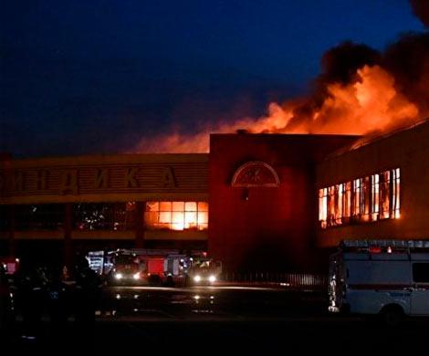 Поджог назван основной версией причины пожара в«Синдике»