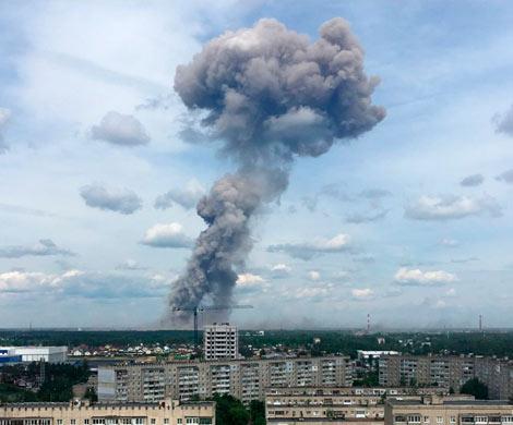 Эхо взрывов в Дзержинске
