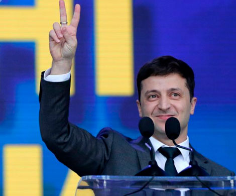 Зеленский наконец-то стал президентом Украины