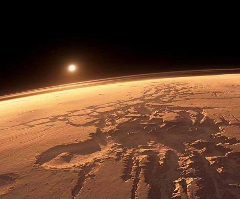 Жизнь на Марсе уничтожило ядерное оружие пришельцев