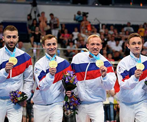 Звон российских медалей в Минске