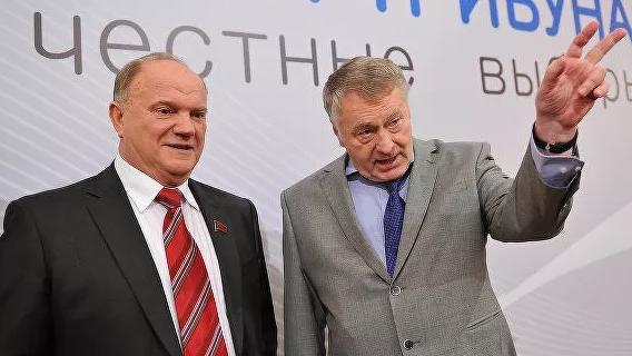 Медведеву наступают на пятки: Зюганов и Жириновский могут претендовать на пост премьера