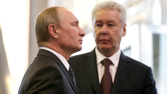 Политолог рассказал о противостоянии Путина и Собянина в период пандемии