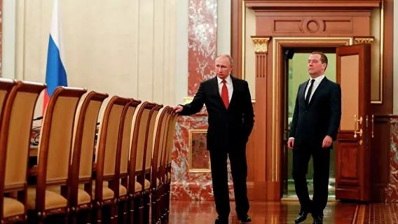 Путин недоволен Медведевым: Forbes назвал причину отставки правительства