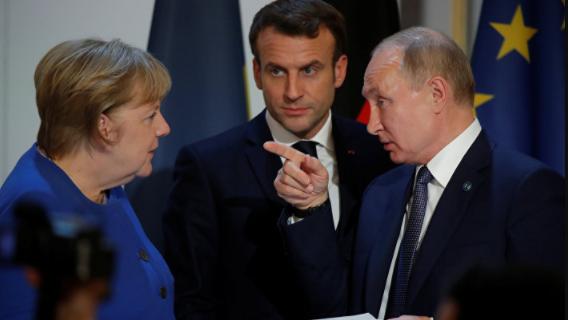 Валерий Соловей: Меркель и Макрон чувствуют слабость Путина
